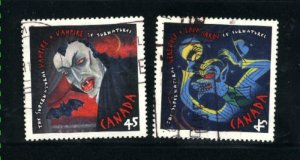 Canada #1665-66   used VF 1997  PD