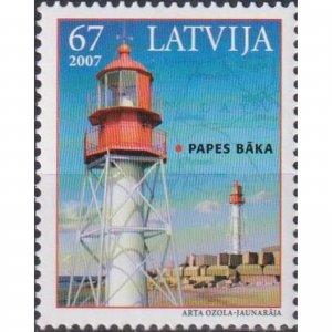 Latvia 2007 Lighthouses of Latvia  (MNH)  - Lighthouses