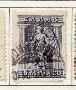 Greece 1911-23 Early Issue Fine Used 20l. 175645