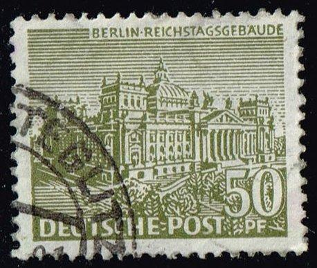 Germany #9N53 Reichstag Building; Used (0.35)
