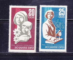 Germany DDR 899-900 Set MNH Women
