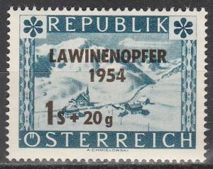 Austria #B287  MNH    (S3781)