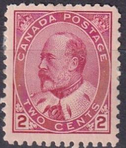 Canada #90 F-VF Unused  CV $55.00  (A19924)