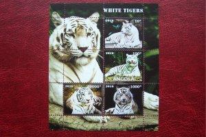 Angola 2016 MNH Fauna Animals Tiger