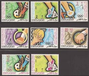 Qatar 303-310 Mint VF NH