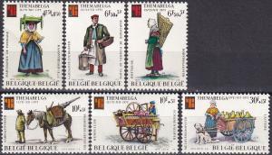 Belgium #B931-6  MNH CV $5.45 (A19861)