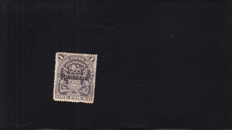 Foreign Revenue: Rhodesia, Specimen (17905)