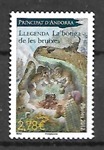 ANDORRA STAMPS. LEGEND THE WITCH'S SHOP, 2012, MNH