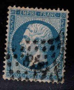 FRANCE Scott 26 1862 Emperor Napoleon III