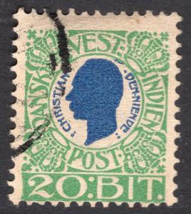 DANISH WEST INDIES SCOTT 33