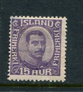 Iceland #117 Mint