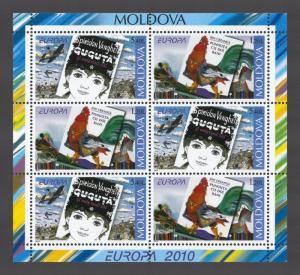 Moldova 2010 CEPT Europa Children's Books 6 MNH stamps Booklet