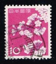 Japan #725 Cherry Blossoms; Used (0.25)