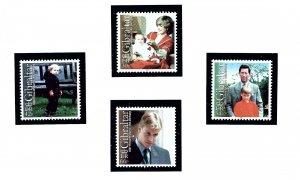 Gibraltar 842-45 MNH 2000 Prince William 18th Birthday  (KA)