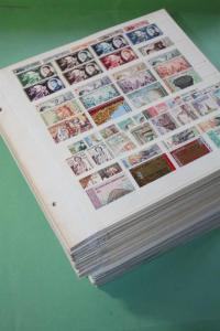 LAOS MNH Stock Until 2011 Mainly per 3 Stamp Collection w/ Imperforated Sets