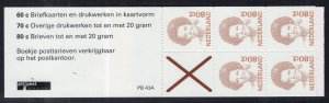 Netherlands 774Ab Booklet MNH VF