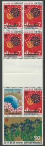 Japan # 1031b  EXPO/70 Two Complete Booklets  (2)  Mint NH