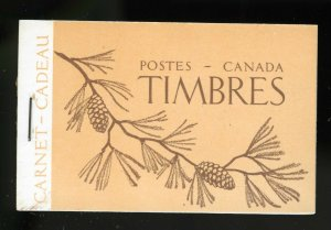 Canada Booklet Unitrade BK39a in French,