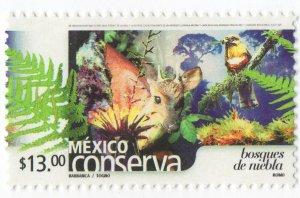 Mexico Conserva MNH paper 3 Sc 2403, forest