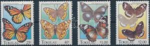 Tokelau Islands stamp Buttefly set 1995 MNH Mi 219-222 WS179270