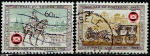 Belgium; 1966: Sc. # 677-678: O/Used Cpl. Set