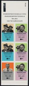 Netherlands B673b Booklet MNH Senior Citizens
