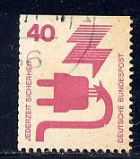 Germany Bund Scott # 1079, used, SE top
