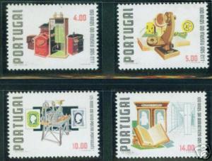 PORTUGAL Scott 1411-4 MNH** Postal Museum set CV $4.20