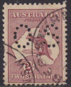 Australia 1915 SC OB 43 Used