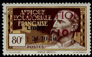French Equatorial Sc B12 Mint OG VF SCV$30...Colonies are in demand!