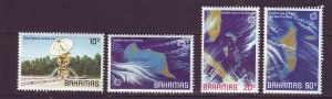 J24186 JLstamps 1981 bahamas set mh #486-9 space
