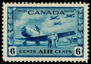 CANADA SG399, 6c blue, NH MINT. Cat £32.
