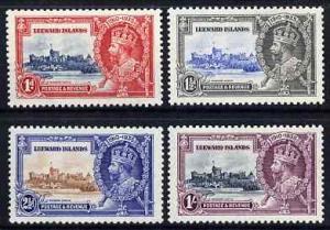 Leeward Islands 1935 KG5 Silver Jubilee set of 4, mounted...