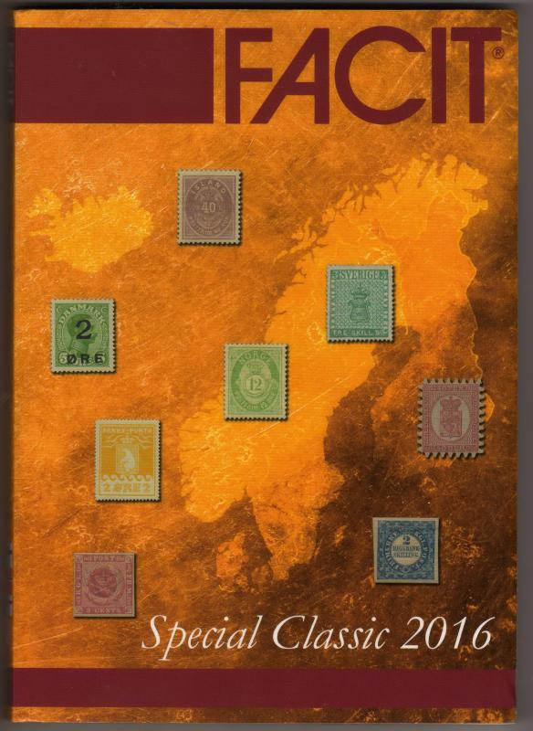 FACIT - Special Classic 2016 stamp catalogue