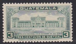 Guatamala # 309, National Palace, NH