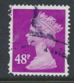 GB QE II Machin - SG Y1724   Used  48p 2 Bands