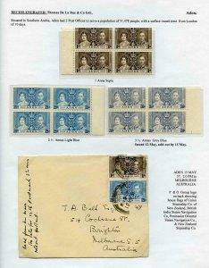 Aden 1937 Coronation Page