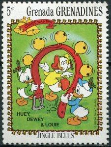 Grenada Grenadines 1983. Huey, Dewey and Louie (MNH OG) Stamp