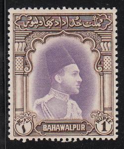 Bahawalpur Nawab Bahadur (Scott #12) MLH