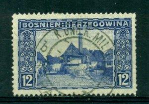 Bosnia & Herzegovina 1912 #62 U SCV(2020)=$6.75