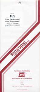 Showgard Stamp Mount 109/264 CLEAR Background Pack of 5