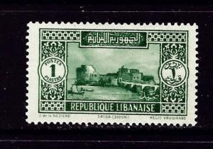 Lebanon C60 Hinged 1937 issue