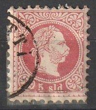 7E Austria Office in Turkish Empire Used #191216-23