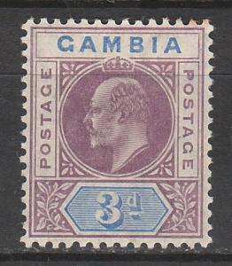 GAMBIA 1904 KEVII 3D
