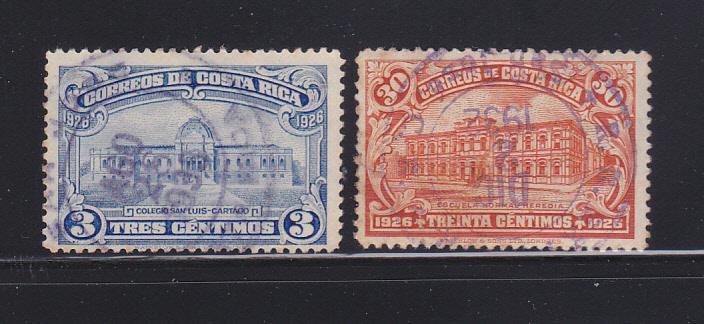 Costa Rica 143, 145 U Buildings