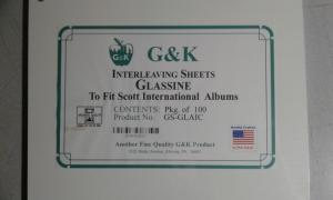 100 Interleaving Sheets Scott International GS-GLAIC
