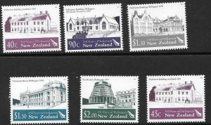 NEW ZEALAND SG2678/83 2004 150th ANNIV OF FIRST OFFICIAL PARLIAMENT MNH