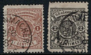 Luxembourg #40-1  CV $7.60