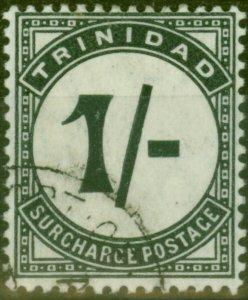 Trinidad 1905 1s Slate-Black SGD17 V.F.U