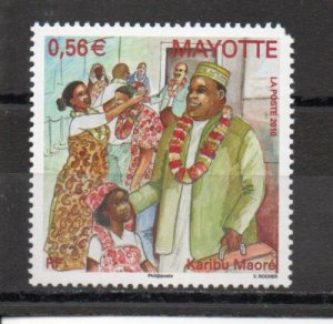 Mayotte 258 MNH